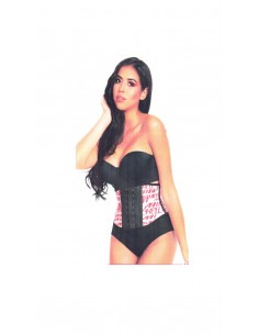 Gaine latex 2 crochets -...